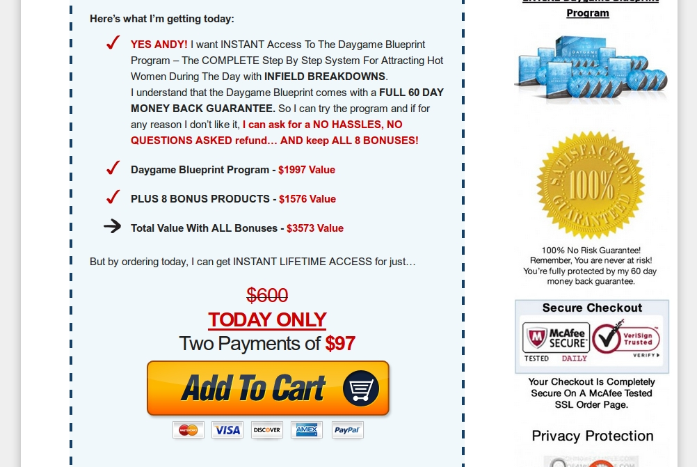 Daygame blueprint coupon 33 off discount buy with huge savings daygame blueprint buy malvernweather Image collections